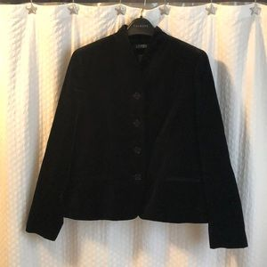 Ralph Lauren black velvet jacket